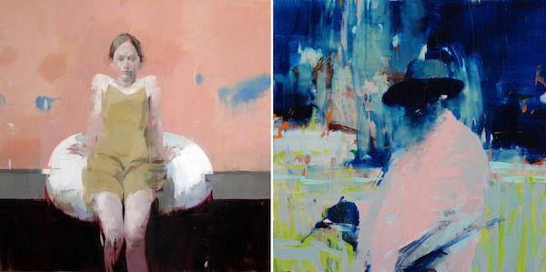 deux tableaux d'Alex Kanevsky