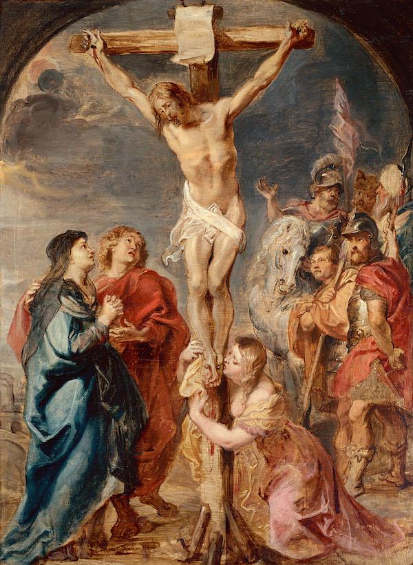 Pierre-Paul Rubens, Le Christ en croix