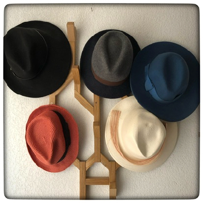 La collection de chapeaux de Corinne Franquet