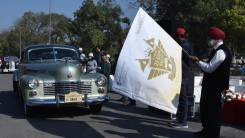 Asia's Prestigious 21 Gun Salute International Vintage Car Rally & Concours d'Elegance will be flagged off from the Historic India Gate on 15th February