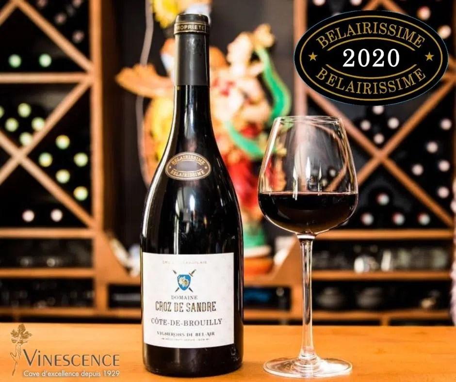 COTE DE BROUILLY    Domaine Croz de Sandre 2020
