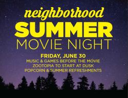 Neighborhood Movie Night