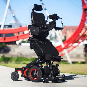 F5 VS Verticle Standing Permobil Wheelchair