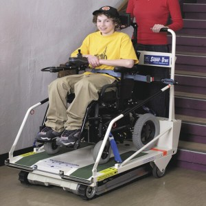 Super-Trac Portable Stair Climber Wheelchair Lift