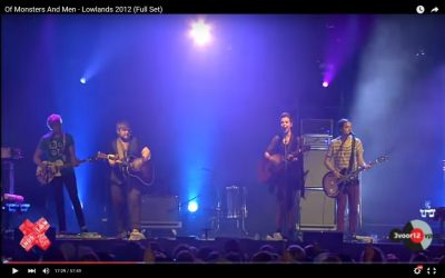 Of Monsters And Men - Lowlands 2012