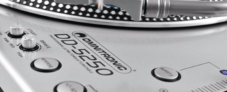 Giradischi Piatto Dj Professionale Omnitronic DD-5220L