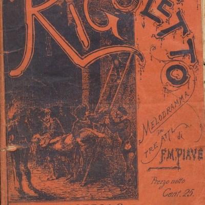 Rigoletto - Giuseppe Verdi (Libretto)