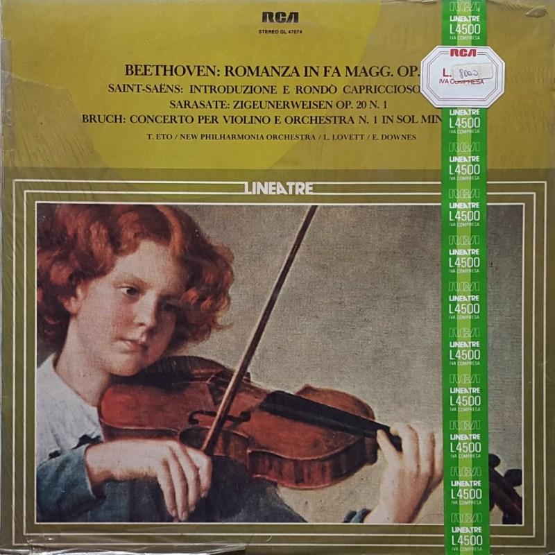 Beethoven / Saint-Saëns / Sarasate / Bruch