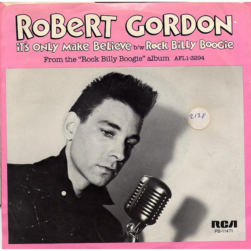 Robert Gordon - It's only make believe (Colored Vinyl)