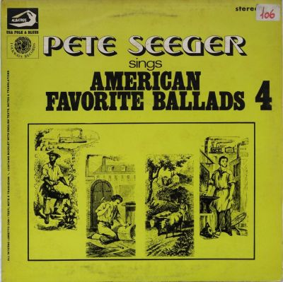Pete Seeger - American favorite ballads - Vol. 4