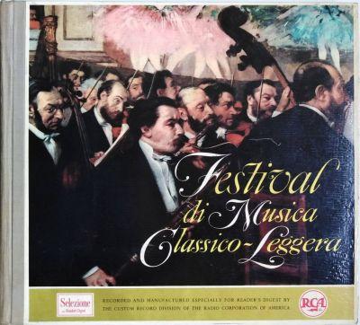 Festival di Musica Classico-Leggera (Box 12 LP)