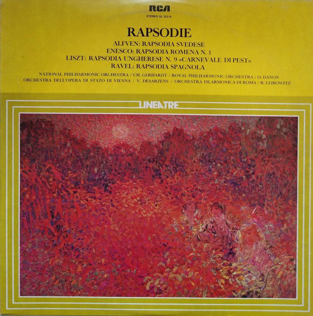 Rapsodie - Alfven / Enesco / Liszt / Ravel