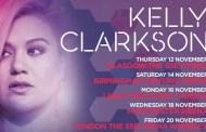 Kelly Clarkson cancela definitivamente su gira en Canadá y UK