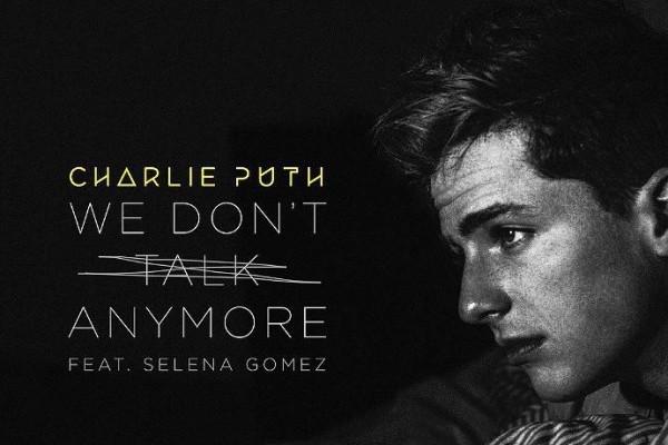 'We Don't Talk Anymore' de Charlie Puth y Selena Gomez, supera los 1.000 millones en Spotify
