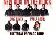 New Kids On The Block anuncia The Total Package Tour junto a Boyz II Men y Paula Abdul