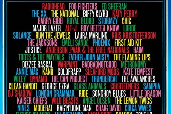 Katy Perry, The xx, Rag'n'Bone Man, Lorde, Craig David y muchos otros se unen a Glastonbury 2017