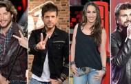 Pablo López y Juanes, debutarán en La Voz de Telecinco, junto a Malú y Manuel Carrasco