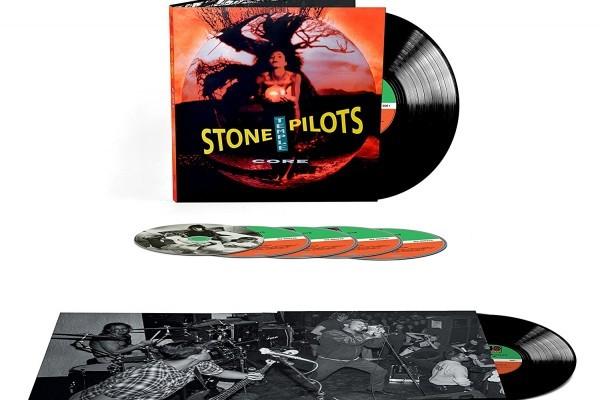 'Core' de Stone Temple Pilots, regresa al top 40 en US, gracias a la reedición 25 aniversario
