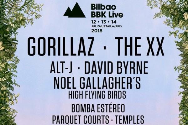 Noel Gallagher, alt-J y David Byrne, últimas incorporaciones del Bilbao BBK Live 2018