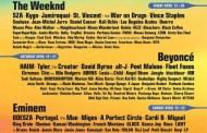 Coachella confirma cartel completo, con The Weeknd, Beyoncé y Eminem a la cabeza