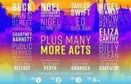 Taylor Swift, Ed Sheeran, Noel Gallagher y Beck, en el 'The Biggest Weekend', de la BBC