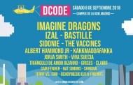 Imagine Dragons, Izal, Bastille, Sidonie y The Vaccines, en el DCODE Festival