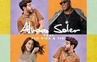 Álvaro Soler adelanta unos segundos del vídeo del remix de 'La Cintura', junto a TINI y Flo Rida