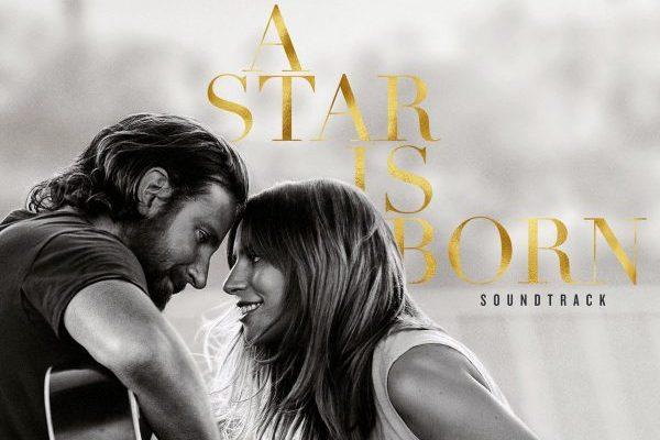 Lady Gaga y Bradley Cooper repiten por tercera semana, en el #1 de la lista mundial de álbumes, con 'A Star Is Born'