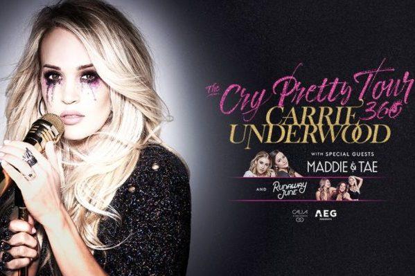 Carrie Underwood anuncia gira, 'The Cry Pretty Tour 360', y que está de nuevo embarazada