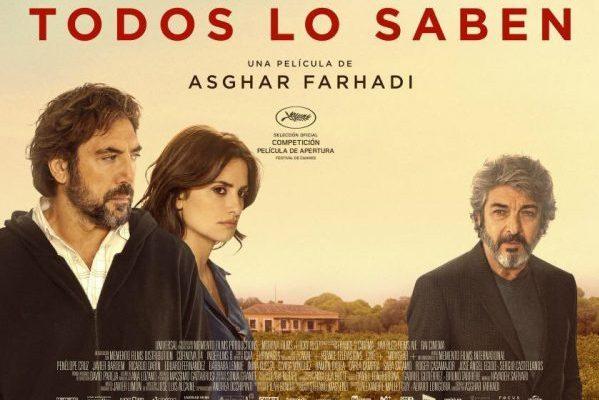'Todos Lo Saben' y 'Predator', estrenos más destacados en la cartelera española, el fin de semana
