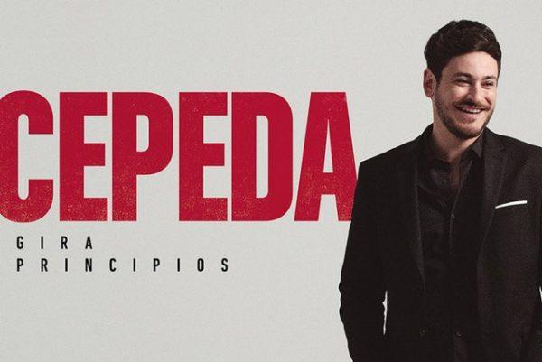 Cepeda regresaba al top 10 de álbumes en España, y hoy añade una nueva fecha a si gira 'Principios'
