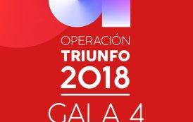 Ya en todas las plataformas digitales, la Gala 4 de Operación Triunfo 2018