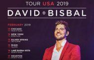 David Bisbal anuncia 8 conciertos, en los Estados Unidos, para febrero de 2019