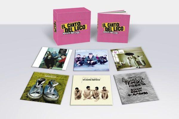El Canto del Loco publicará el 16 de noviembre, una caja con sus cinco discos de estudio, 'Aquellos Años Locos'