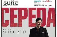 Cepeda actuará el 9 de marzo, en el Gran Teatre del Liceu de Barcelona, dentro de su 'Gira Principios'