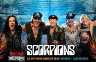 Scorpions será el tercer cabeza de cartel, del Download Festival
