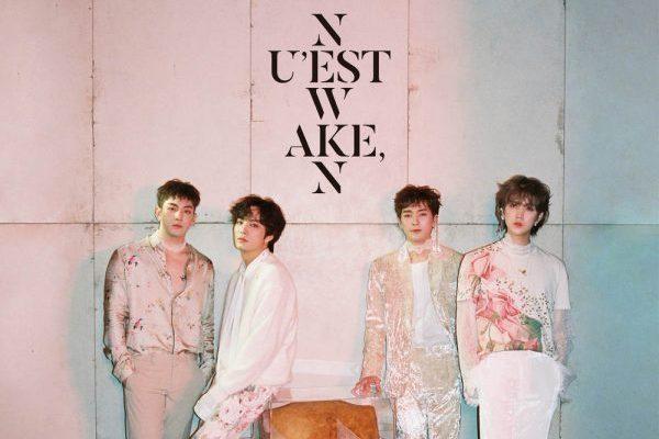 Nu'Est consiguen el #1 mundial en álbumes con 'Wake,N'