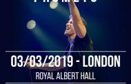 Pablo Alborán anuncia concierto en el Royal Albert Hall, en Londres, el 3 de marzo de 2019