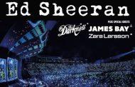 James Bay, Zara Larsson y The Darkness, serán los teloneros en la gira de Ed Sheeran