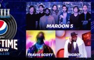Finalmente Maroon 5, Travis Scott y Big Boi serán los encargos del intermedio de la Super Bowl LIII