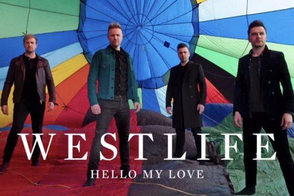 Westlife regresan con 'Hello My Love', pop en estado puro compuesto por Ed Sheeran