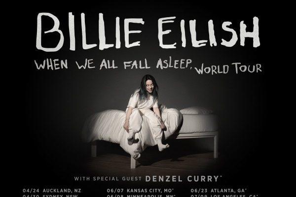 Billie Eilish actuará en Barcelona y Madrid en el mes de septiembre, dentro de su gira mundial