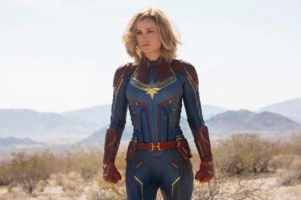 'Capitana Marvel' en la senda de los 150 millones de dólares, el primer fin de semana en USA
