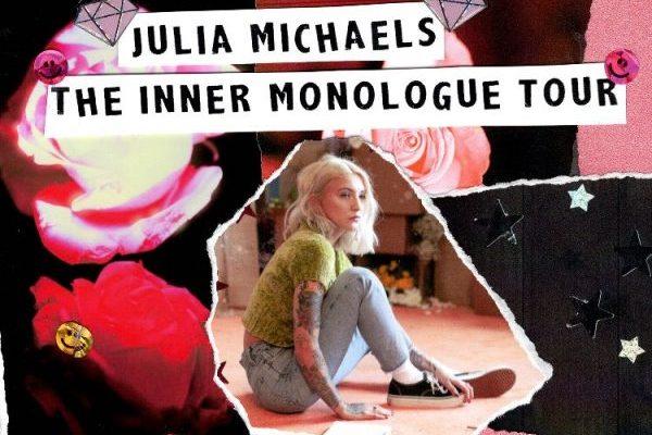 Julia Michaels anuncia su 'The Inner Monologue Tour', que pasará por España, Madrid 4 de octubre