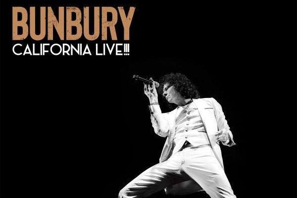 El próximo 17 de mayo se publicará 'California Live!!!', el disco en directo de Bunbury