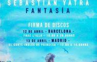 Sebastián Yatra tendrá firmas de discos en Barcelona y Madrid, para su nuevo álbum 'Fantasía'