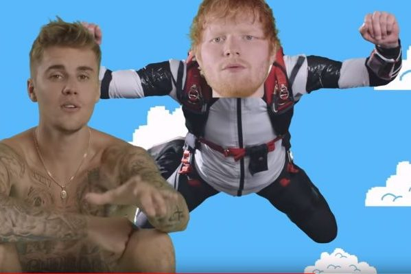Ed Sheeran y Justin Bieber siguen dominando por segunda semana, Spotify Global, con 'I Don't Care'