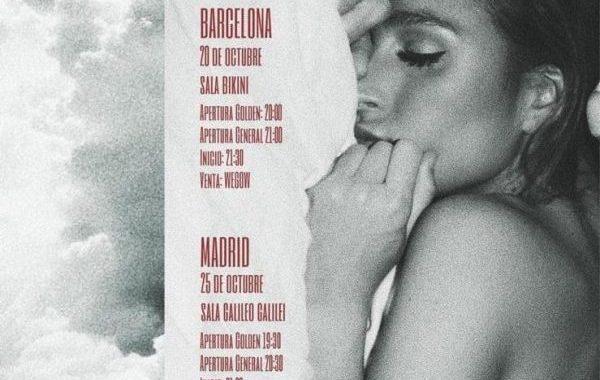 Mañana se ponen a la venta las entradas para los próximos conciertos de Belén Aguilera, en Barcelona y Madrid