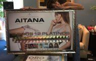 A escasos días del primer aniversario de 'Teléfono', Aitana recibe el reconocimiento de su discográfica