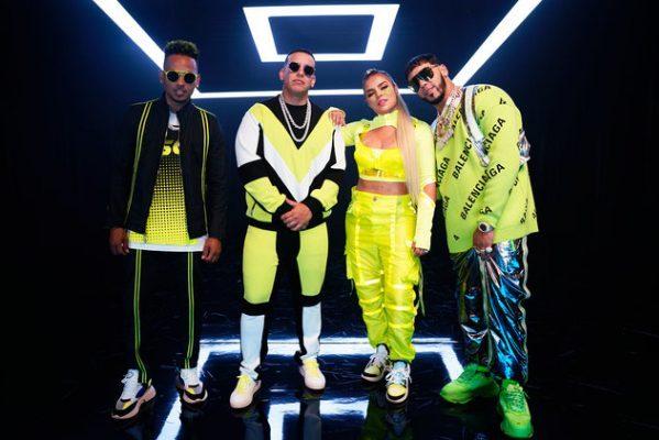 'China' de Anuel Aa, Daddy Yankee, Karol G, Ozuna y J Balvin mantiene por quinta semana el #1 en nuestro Vinilo Top 100